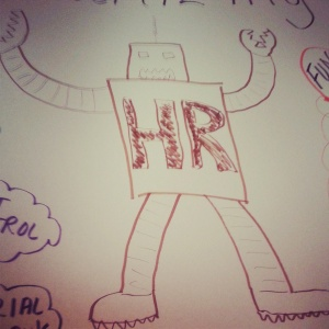 The Killer HR Robot, destroying fun in the name of credibility!